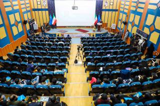آغاز مراسم افتتاحیه دومین همایش ملی فرهنگ دانشگاهی در دانشگاه یبرجند