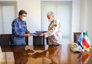 امضاء تفاهم همکاری بین دانشگاه بیرجند با فرماندهی مرزبانی خراسان جنوبی