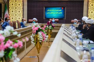 برگزاری جلسه تقدیر از برگزارکنندگان هفتمین کنگره بینالمللی اربعین در دانشگاه بیرجند