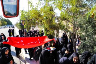 اعزام کاروانهای زیارتی دانشجویان دانشگاه بیرجند به پیادهروی اربعین حسینی 